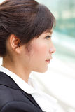 Profile portrait Royalty Free Stock Images