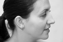 Profile. Portrait. Royalty Free Stock Photo