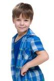 Profile portrait of a little boy Stock Photography