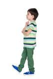 Profile portrait of a little boy Stock Photo