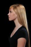 Profile Portrait of Teenager Stock Image