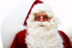 Profile of Santa Claus Stock Photography