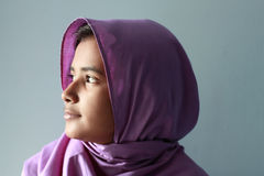 Profile. Shoot of Pakistani Muslim Girl Stock Photography