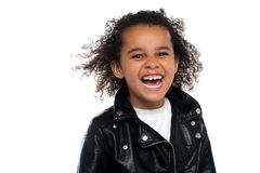 Profile shot of an elementary kid Stock Images