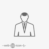 Profile vector icon Stock Images
