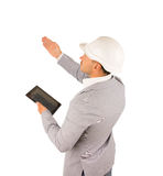 Profile view of an architect giving instructions Royalty Free Stock Photography
