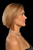 Profile of a woman Stock Image