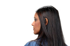 Profile of Woman Stock Image