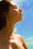 Profile of woman Royalty Free Stock Photos