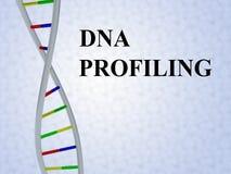 Profilera för DNA - genetiskt begrepp Royaltyfria Foton