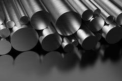 Profili d'acciaio Immagine Stock Libera da Diritti