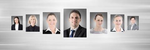 profili del ritratto della gente differente Fotografie Stock Libere da Diritti