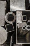 Profili e tubi del metallo Immagine Stock Libera da Diritti