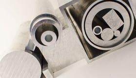 Profili e tubi del metallo Fotografie Stock