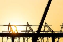 Profili le domiciliazioni dell'ingegnere affinchè le squadre di costruzione lavorino all'industria pesante ed alla sicurezza del  immagini stock
