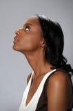 profilkvinna Arkivfoton