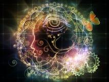 Profilo astrologico Fotografia Stock Libera da Diritti