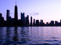 Profilo del Chicago Immagine Stock