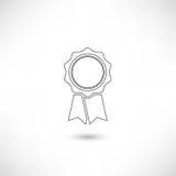 Profilo del distintivo Fotografia Stock Libera da Diritti