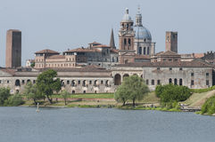 Profilo del mantua Lombardia Italia Europa Fotografie Stock