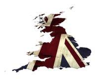 Profilo del Regno Unito Immagini Stock