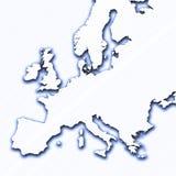 Profilo dell'Europa Fotografia Stock