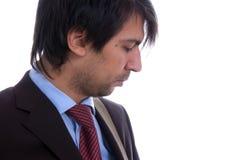 Profilo dell'uomo di affari Immagini Stock Libere da Diritti