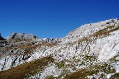Profilo della montagna Immagine Stock