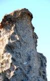Profilo della regina Victoria nella roccia del conglomerato in Baviaanskloof Immagini Stock Libere da Diritti