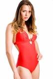 Profilo dello Swimwear Fotografia Stock Libera da Diritti