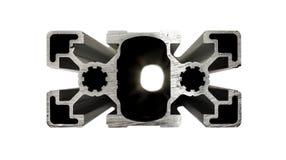 Profilo di alluminio Fotografie Stock Libere da Diritti