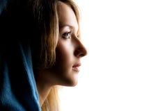 Profilo di bellezza Fotografie Stock
