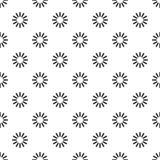 Profilo di carico circolare, stile semplice Fotografia Stock