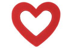 Profilo di cuore Fotografia Stock