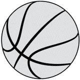 Profilo di pallacanestro Fotografia Stock Libera da Diritti
