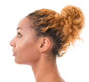 Profilo femminile Immagine Stock Libera da Diritti