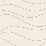 Profilo ondulato d'annata Fotografia Stock