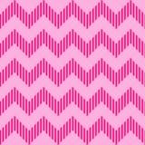 Profilo ondulato geometrico senza cuciture Fotografia Stock Libera da Diritti