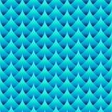 Profilo ondulato senza cuciture geometrico Fotografia Stock Libera da Diritti