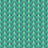 Profilo ondulato senza cuciture geometrico Immagine Stock