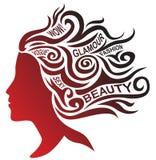 Profilo stilizzato con gli elementi del testo royalty illustrazione gratis