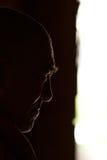 Profilowa głowa michaelita w profilowych warunek Obrazy Royalty Free