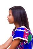 Afro amerykanina dziewczyna Zdjęcie Stock