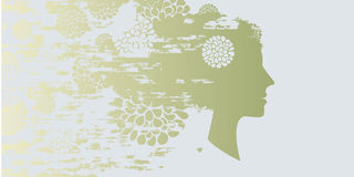 profilowy rocznik Zdjęcie Royalty Free