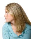 profilowy widok Fotografia Stock