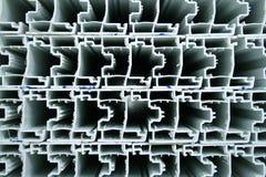 Profils crus de PVC Images libres de droits