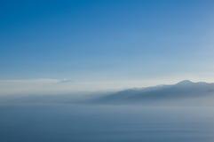Profils des montagnes. Images libres de droits
