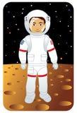 Profissão ajustada: Astronauta ilustração royalty free
