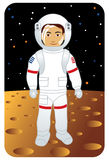 Profissão ajustada: Astronauta Fotografia de Stock Royalty Free