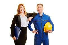 Profissão na construção ou no negócio imagens de stock